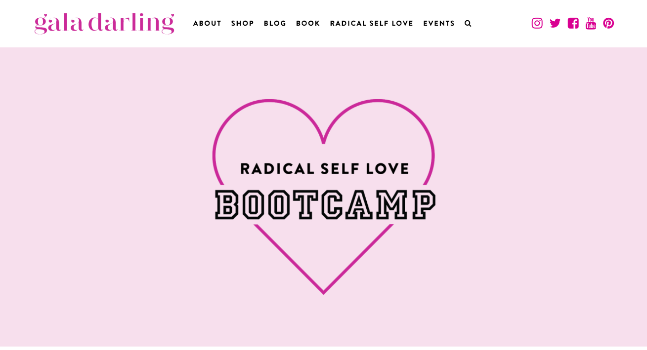 Radical Self Love Bootcamp - love as a six-figure business idea